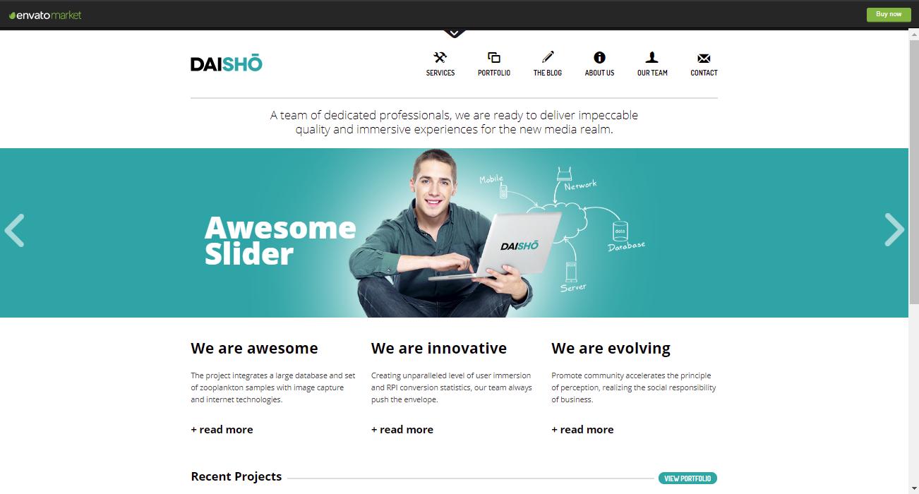Daiso HTML5 WordPress Theme