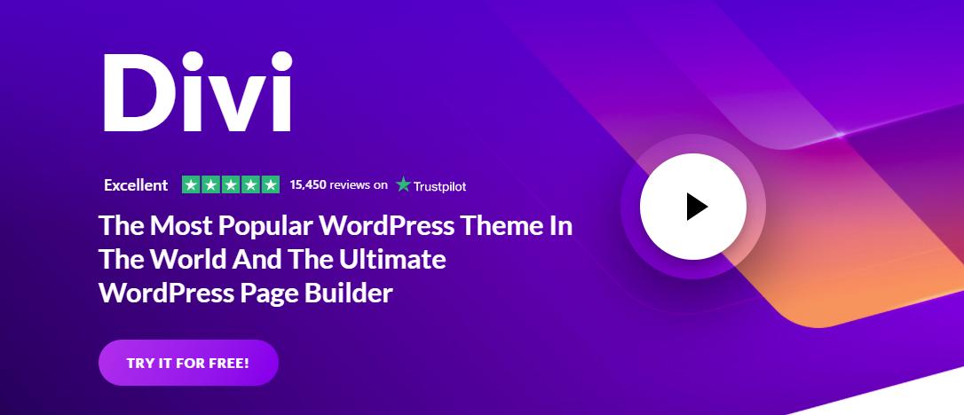 Divi HTML5 WordPress Themes