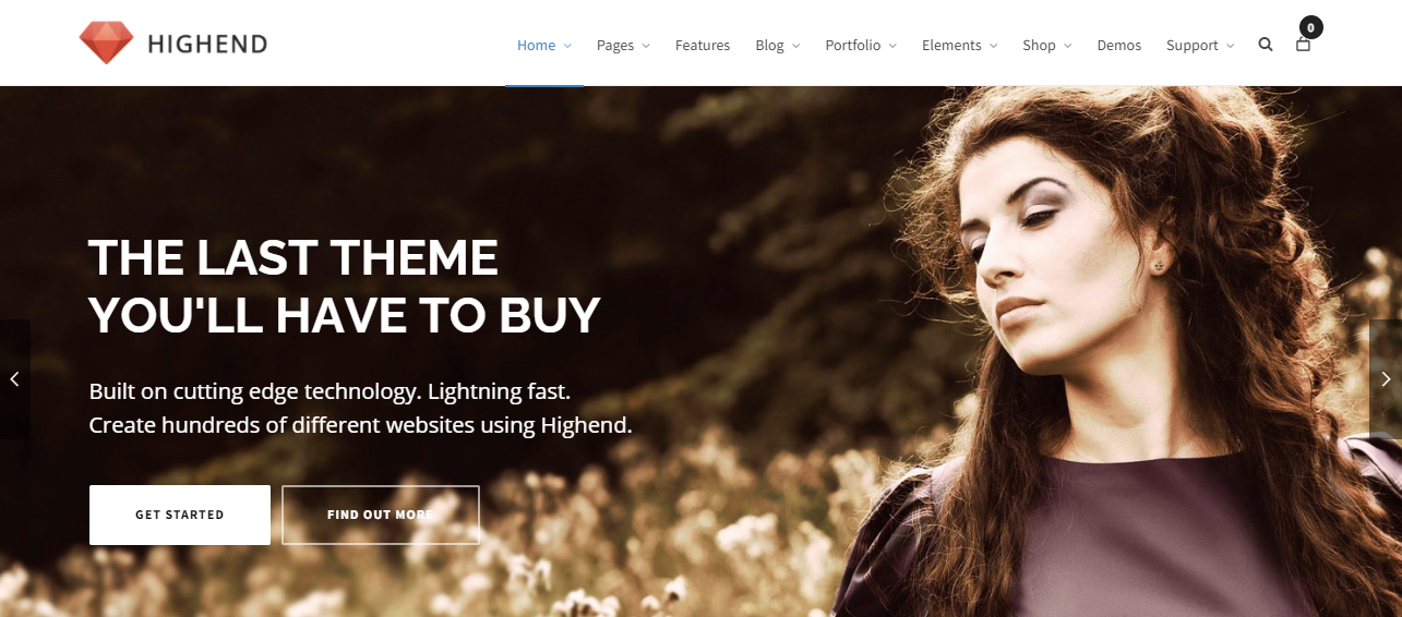Highend HTML5 WordPress Themes