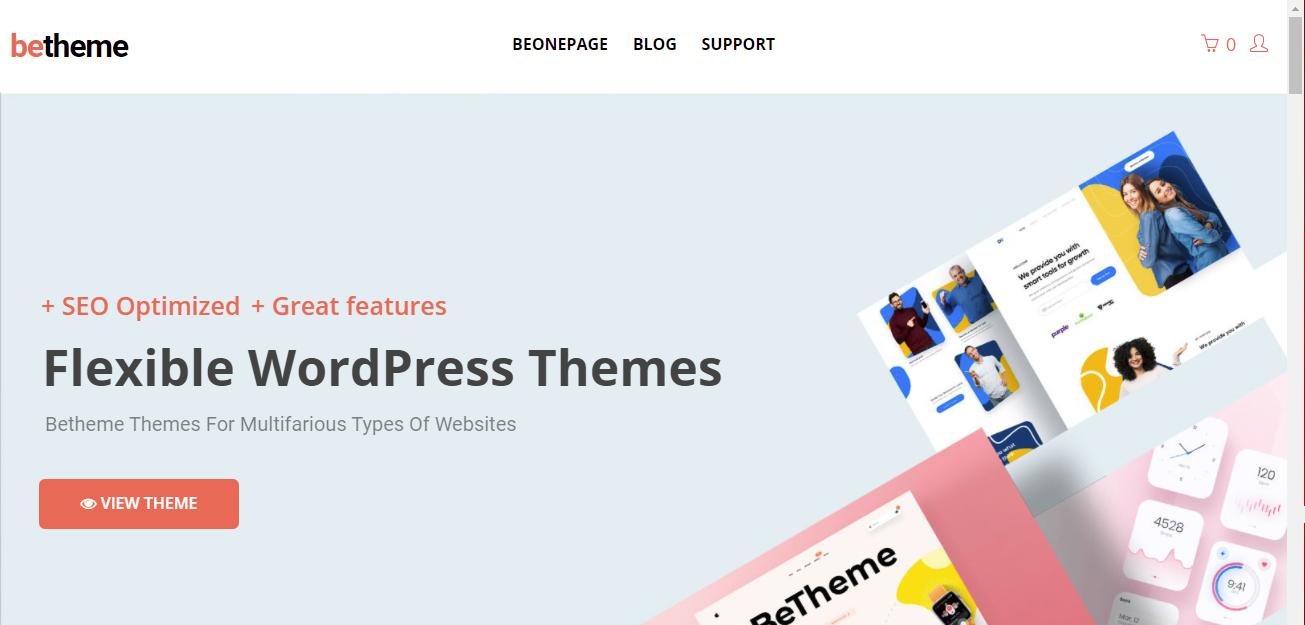 betheme HTML5 WordPress Themes