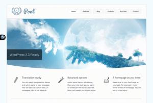 Pont WordPress Theme