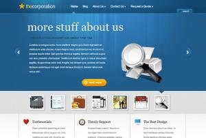 The Corporation WordPress Theme