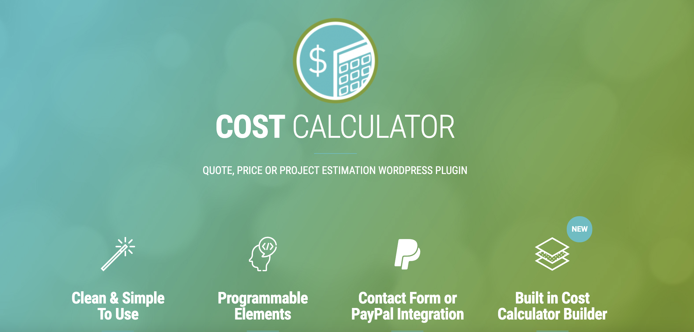 WordPress Quote Plugin - Cost Calculator