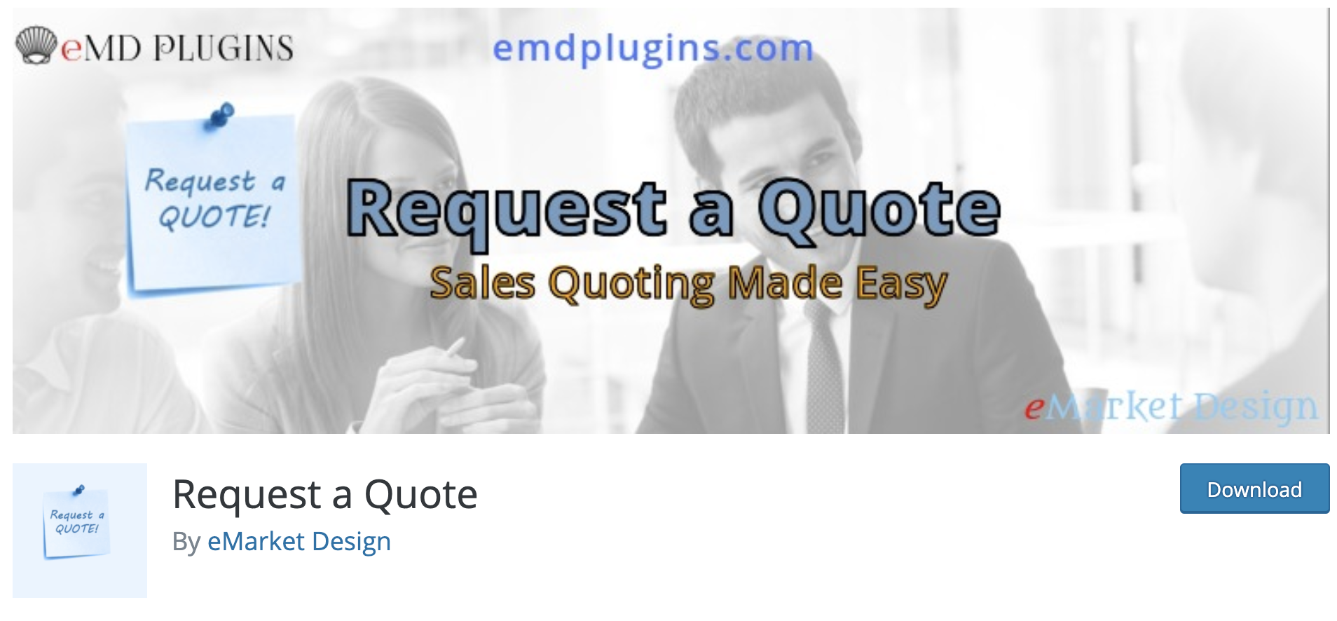 Request a Quote WordPress Quote Plugin