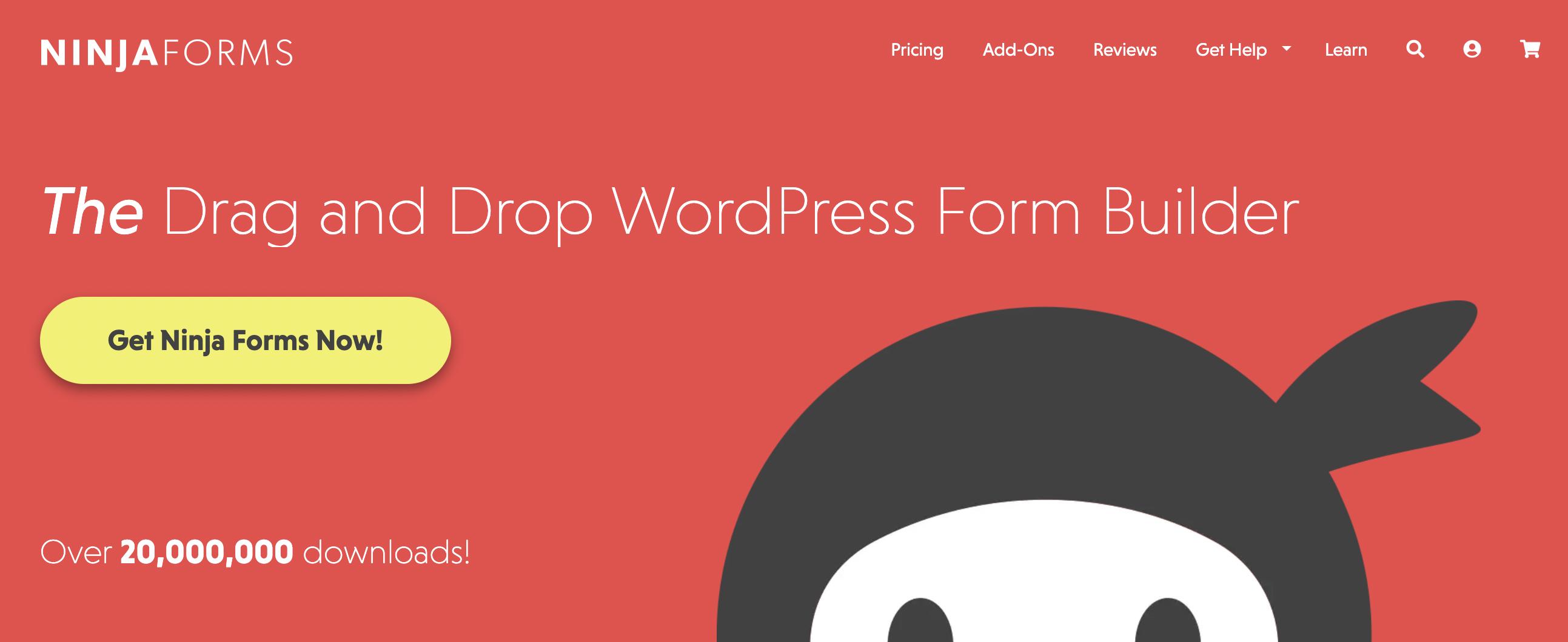 NinjaForm Free WordPress Plugin