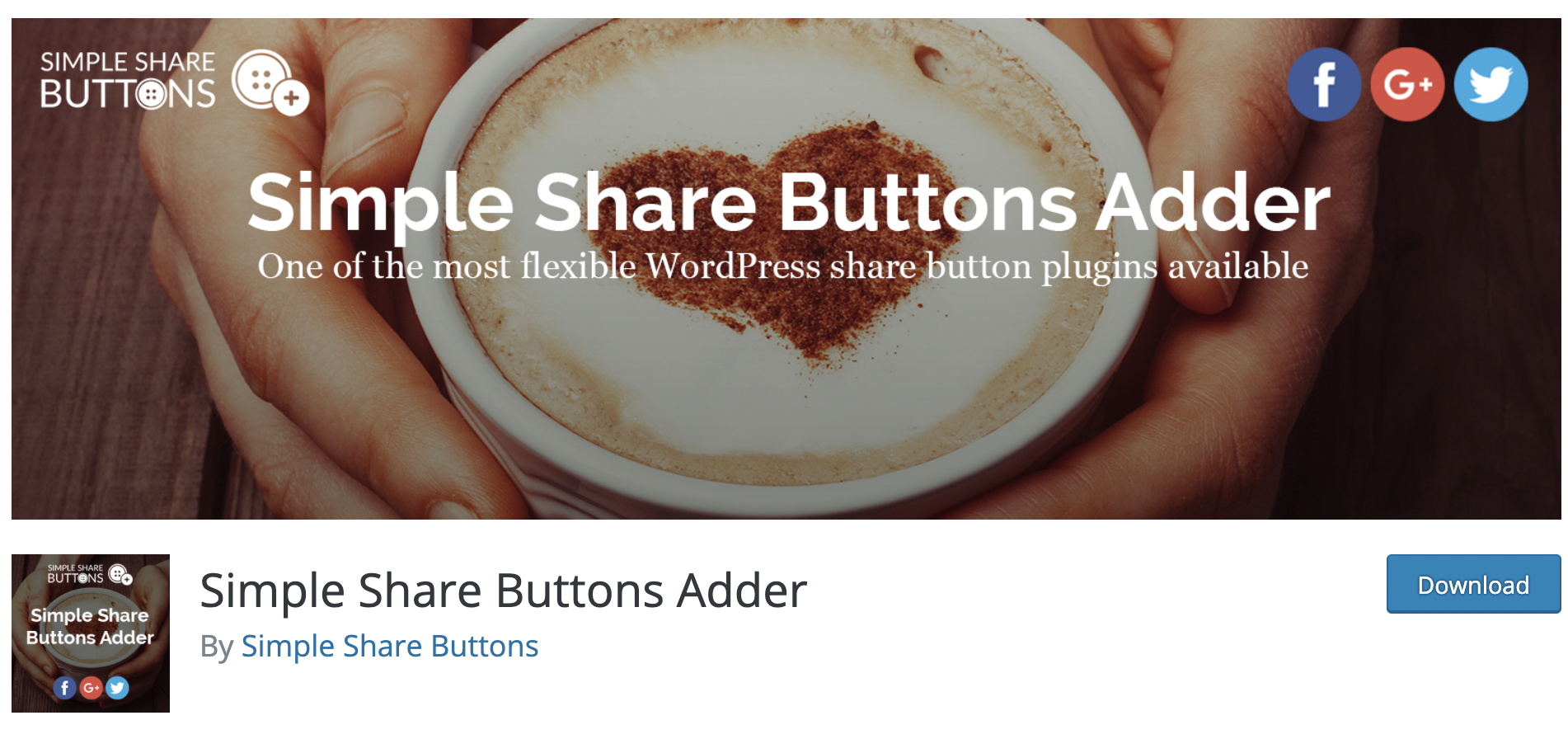 SocialShare Button Adder- Free WordPress Plugin