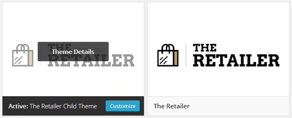 The Retailer Child Theme
