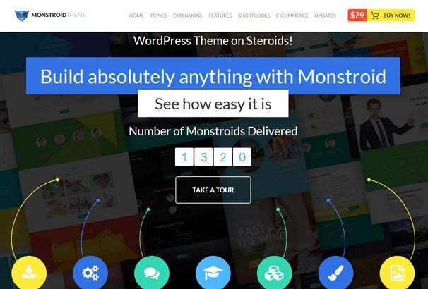 Monstroid WordPress Theme Competition: Win x5 Lifetime Licenses ...
