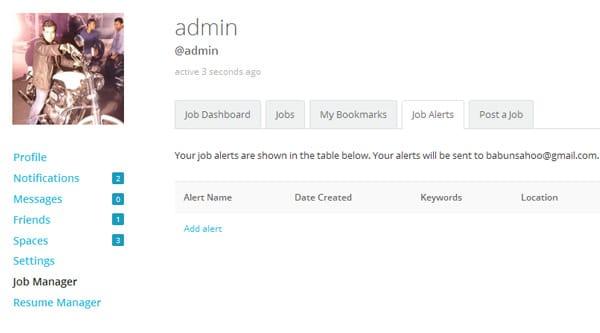 BuddyPress Job Manager WordPress Plugin
