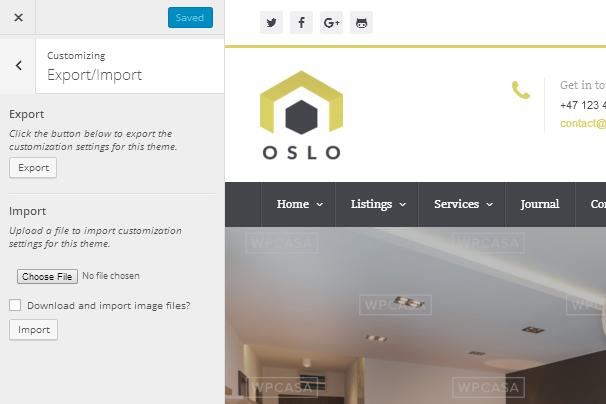 Oslo - Export/Import