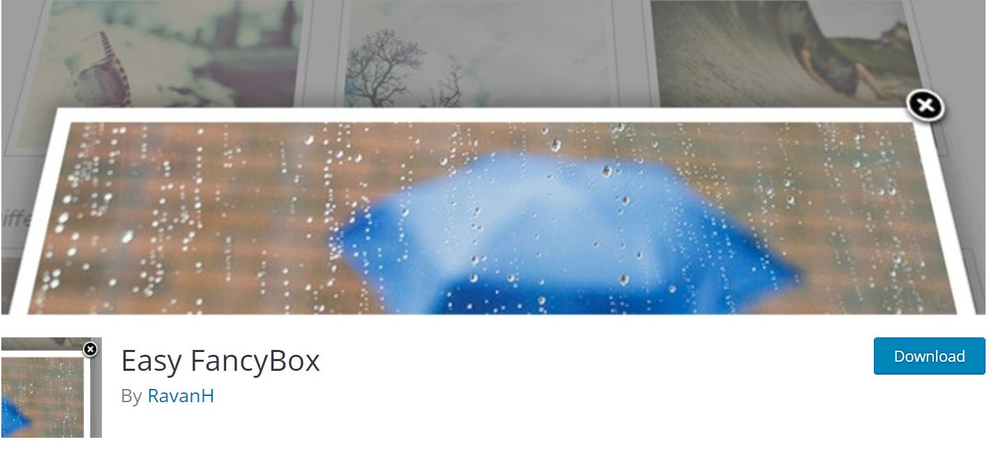 easy fancybox lightbox