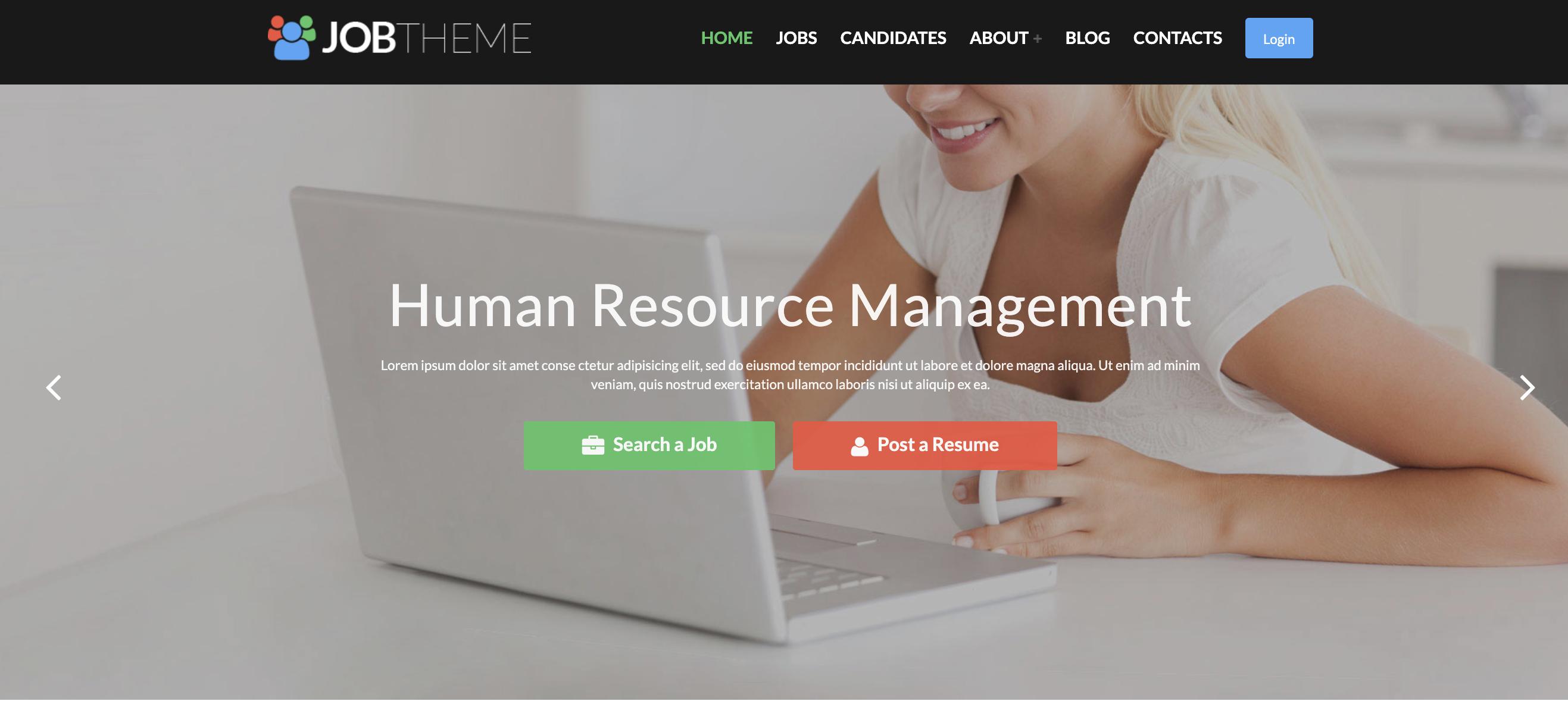 JobTheme WordPress Job Theme