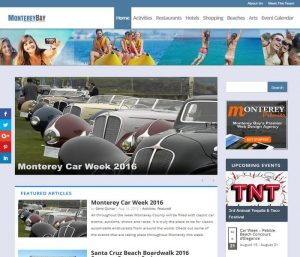 Monterey Bay Fun - Divi Website Example