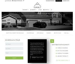 Summit Property Management - Divi Website Example
