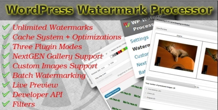fast-watermark-plugin