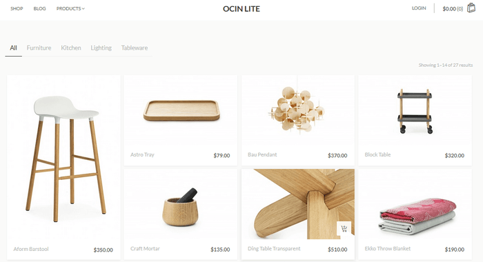 ocin-lite-ecommerce-shop