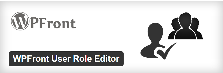 wpfront user role editor