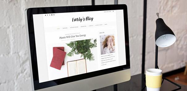 Everly Lite WordPress Theme