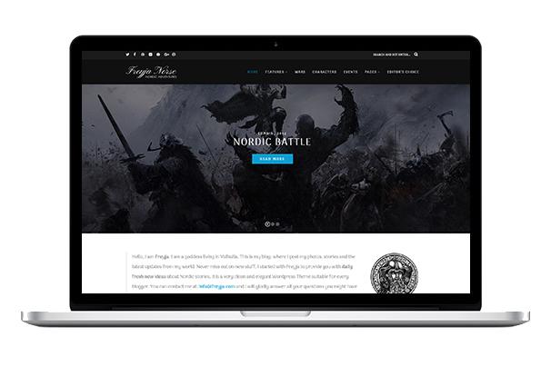 Freyja WordPress Theme