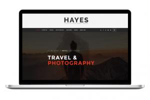 Hayes WordPress Theme