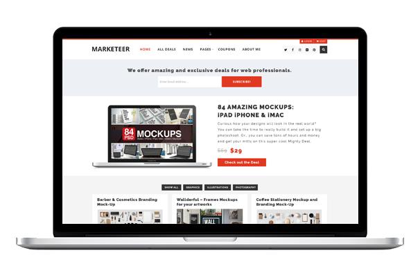 Marketeer WordPress Theme