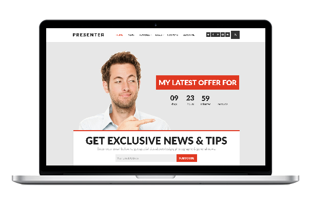 Presenter WordPress Theme