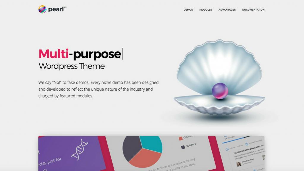 pearl wordpress theme