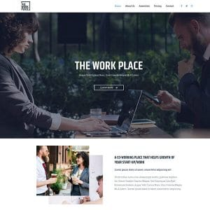 the work place - Pre-Made Starter Sites from Astra theme