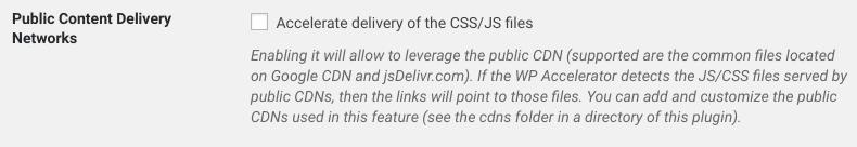CDN CSS / JS Files
