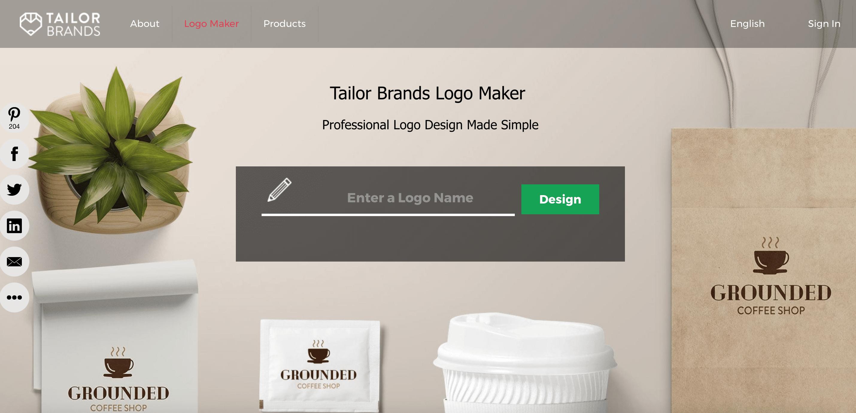 taylor brands logo maker
