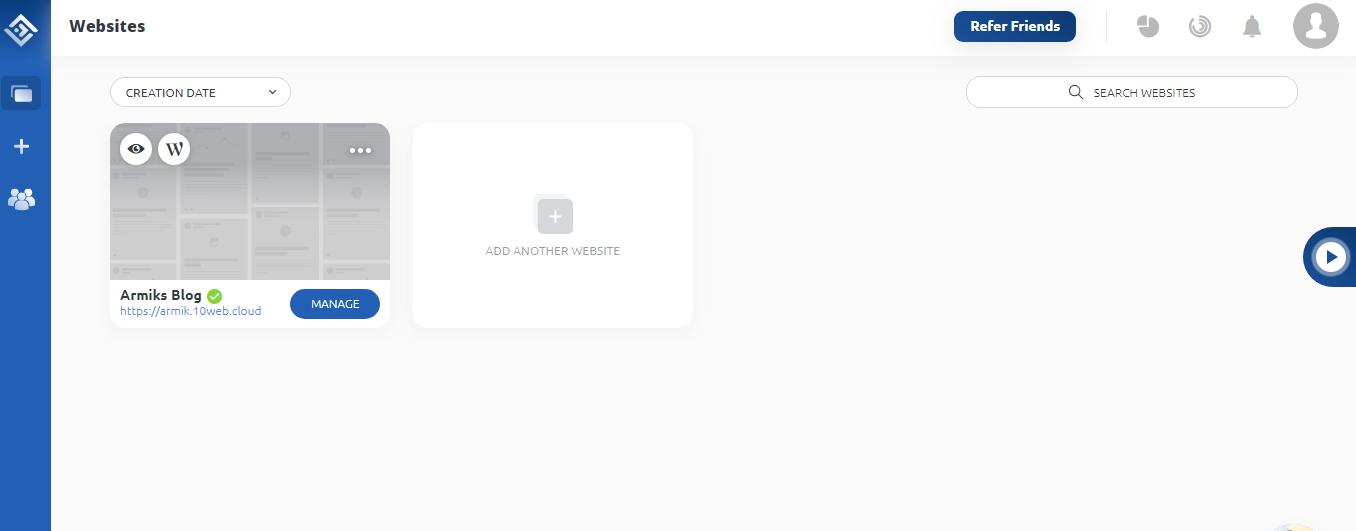 10Web_website_added