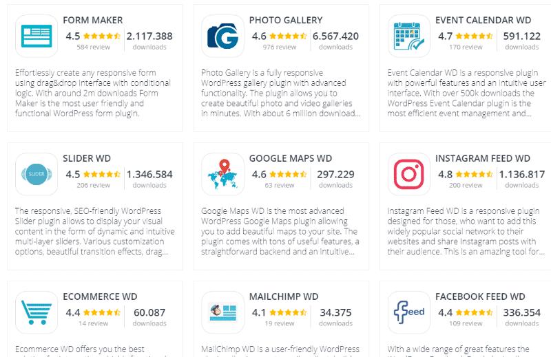 full plugin list