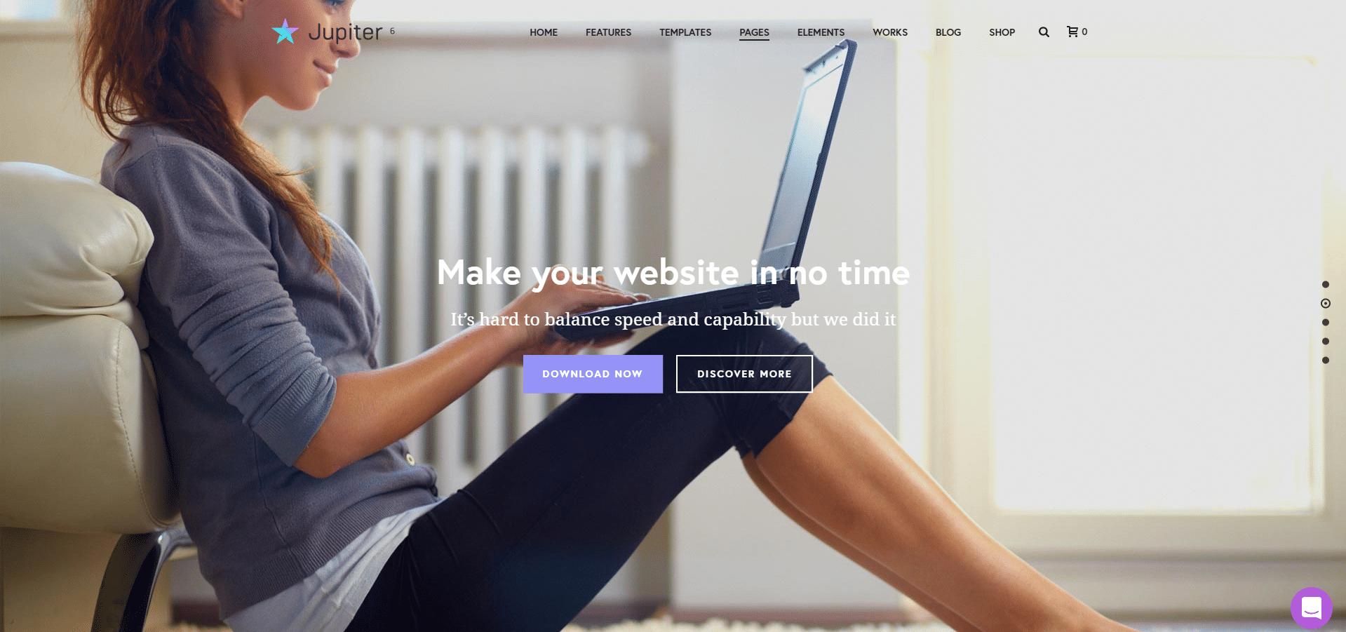 Jupiter - Multipurpose WordPress Theme