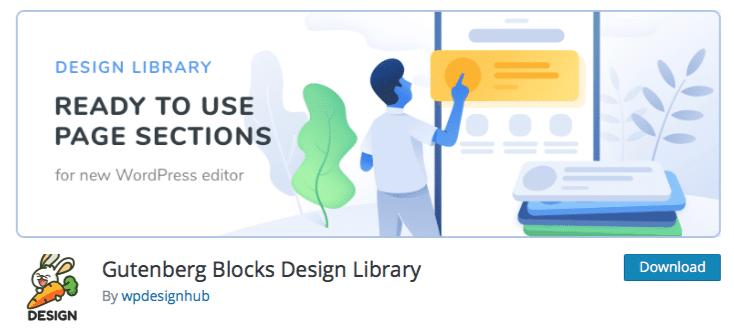 Gutenberg Blocks Design Library