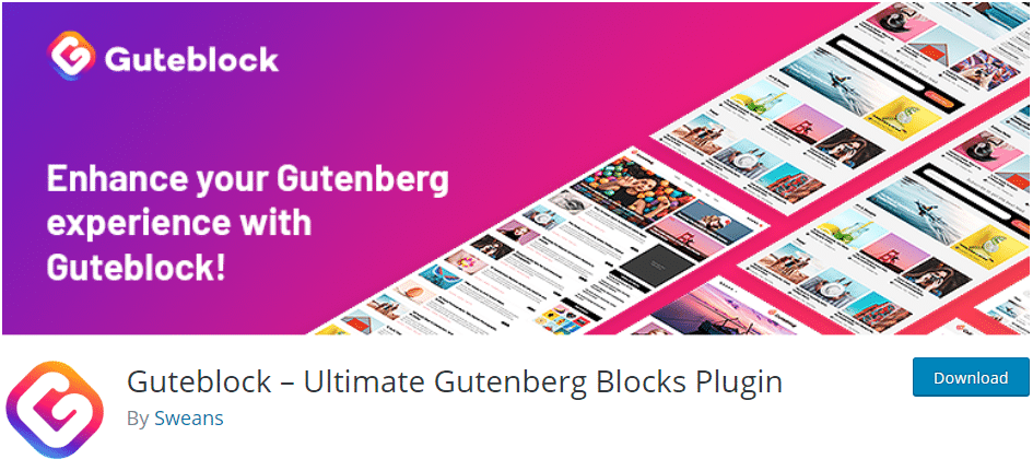 Gutenberg Blocks Plugin Guteblock