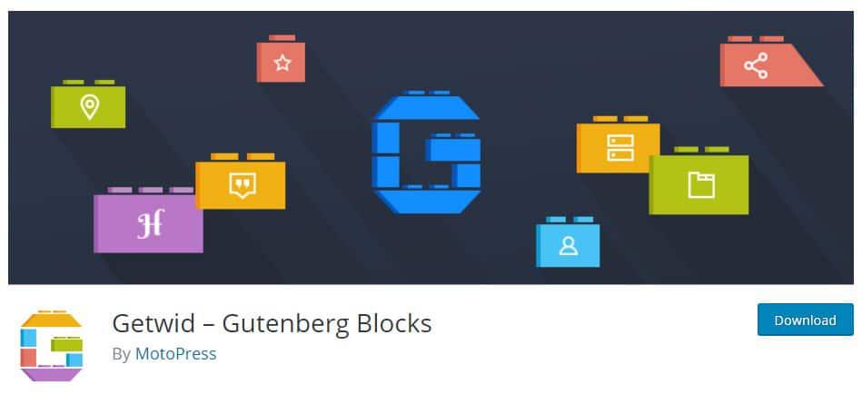 getwid gutenberg blocks plugin