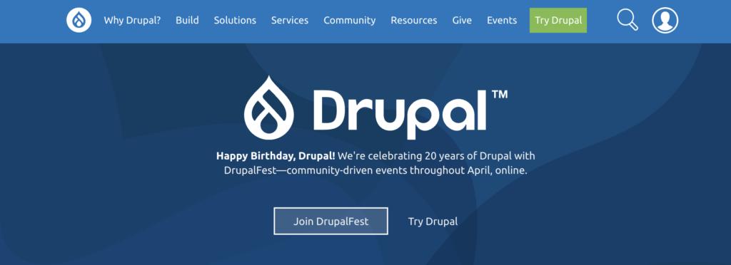 Drupal vs WordPress - Drupal in 2021