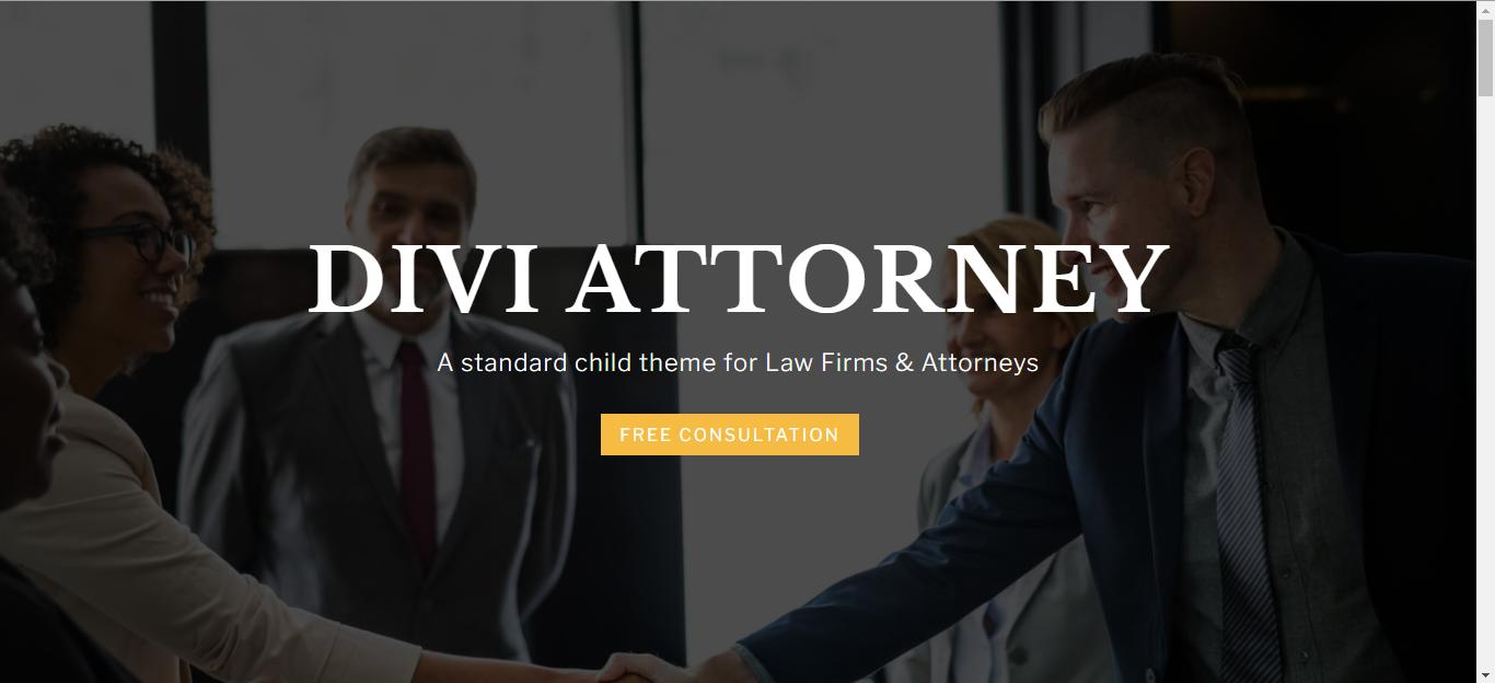 Divi Attorney WordPress Theme