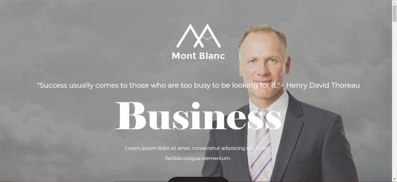 Montblanc Lawyer Theme