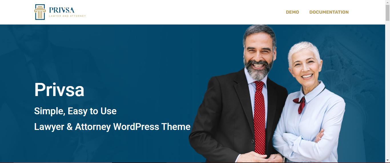 Privsa Lawyer WordPress Themes
