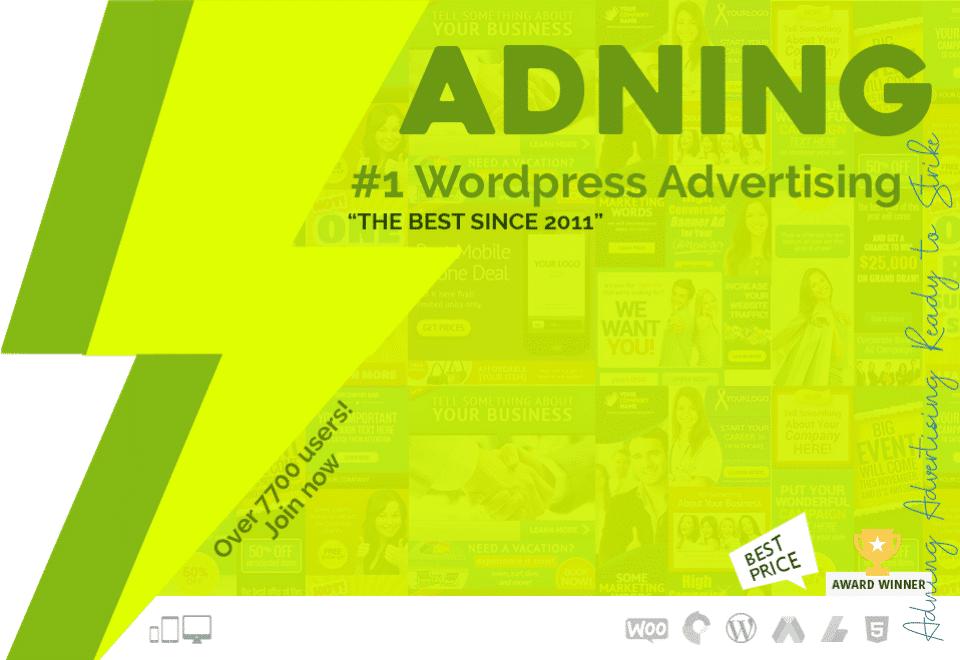 adning advertising plugin