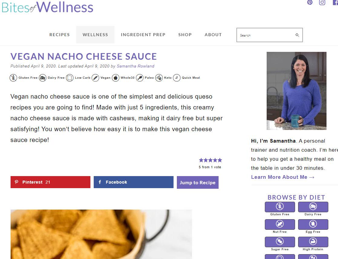Recipe Key - WordPress recipe plugin