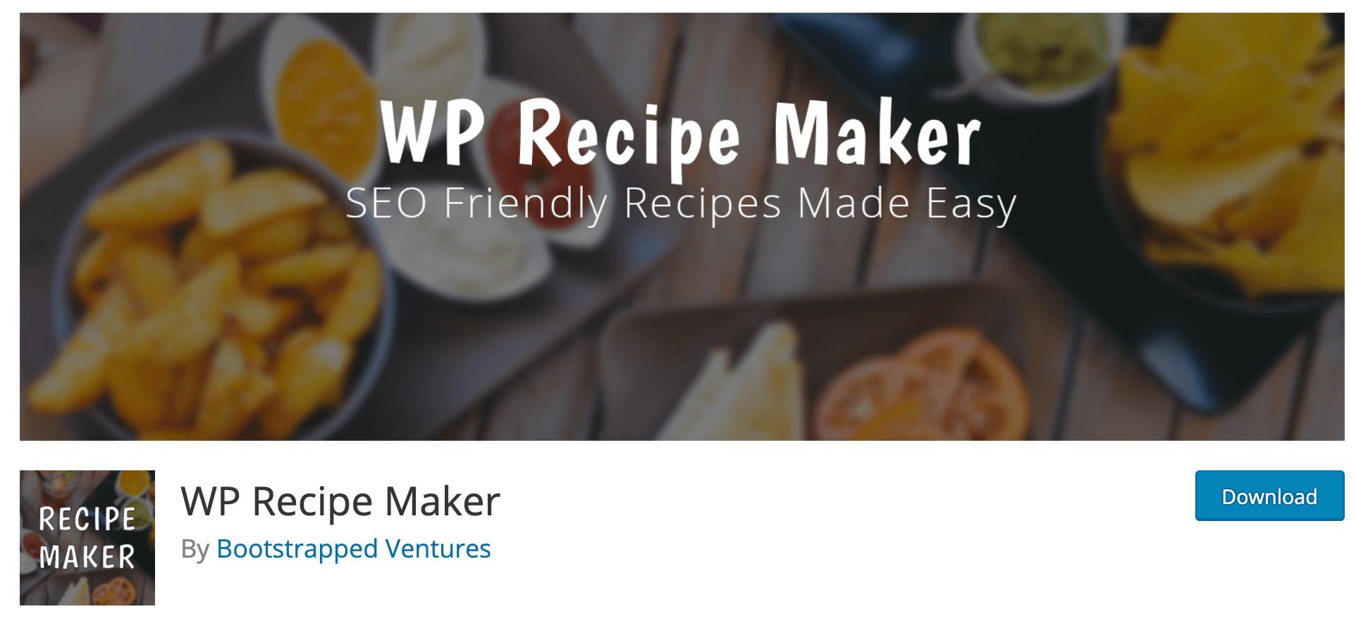 WP Recipe Maker - WordPress recipe plugin