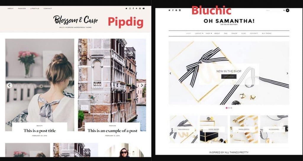 Bluchic vs Pipdig