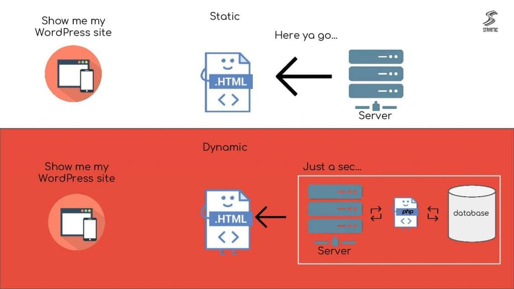 static vs regular hosting