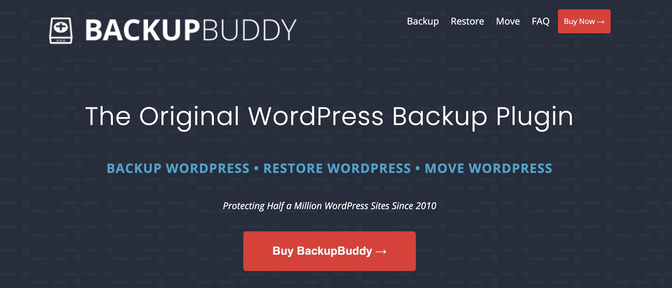 how to backup WooCommerce database - BackupBuddy