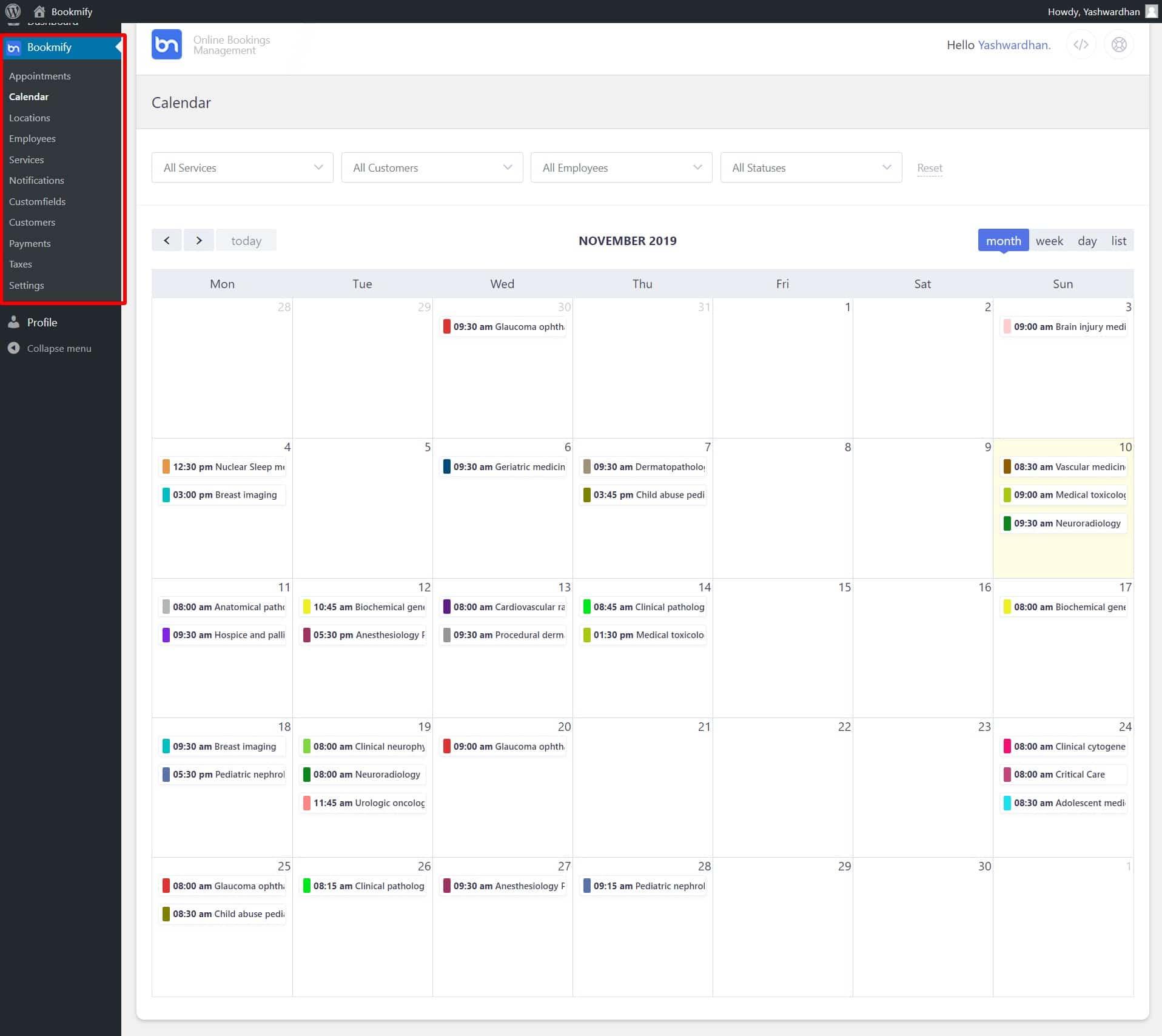 bookmify Booking WordPress Plugin