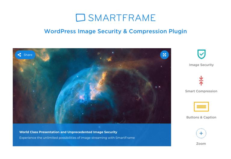 WordPress Image Security & Compression Plugin – SmartFrame