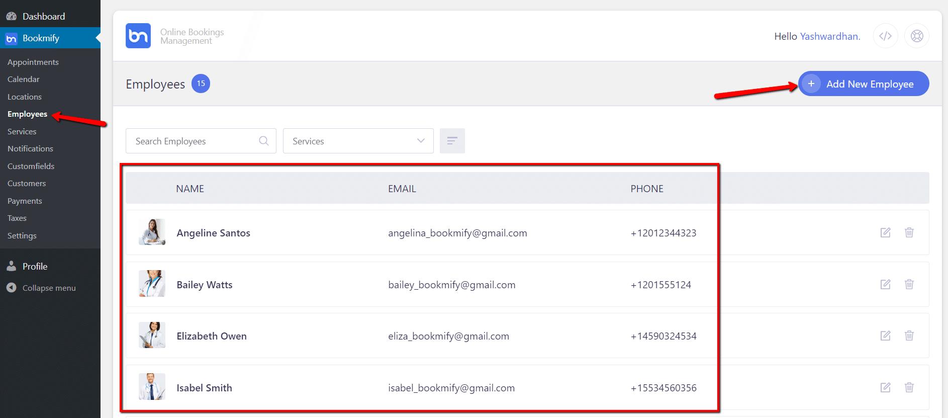 Appointment Booking WordPress Plugin