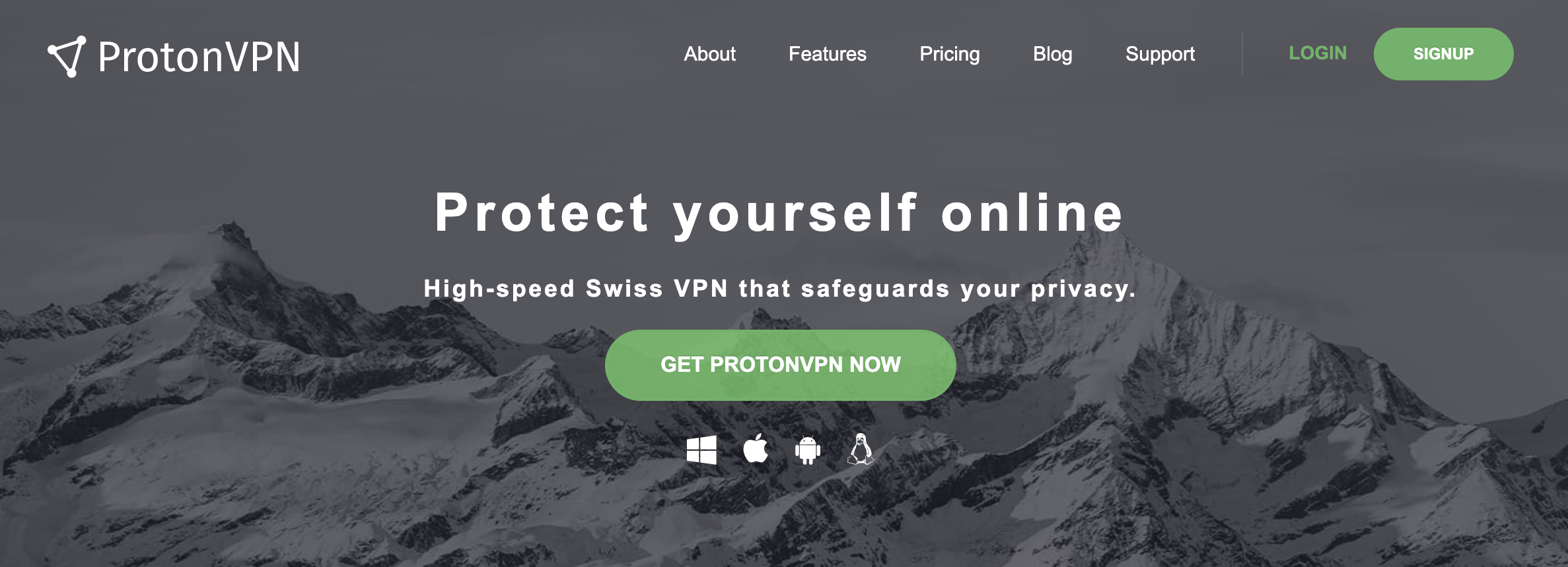 ProtonVPN - best vpn services